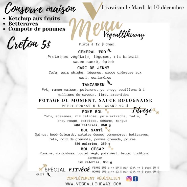 menu 5 décembre